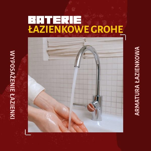 baterie łazienkowe Grohe